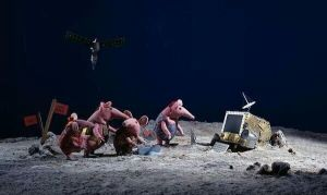 first picture back from the comet we just landed on.